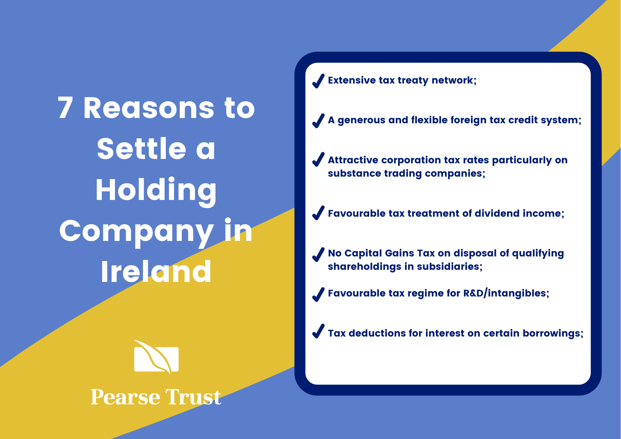 7 Reasons to settle a holding company in Ireland (1) (2)