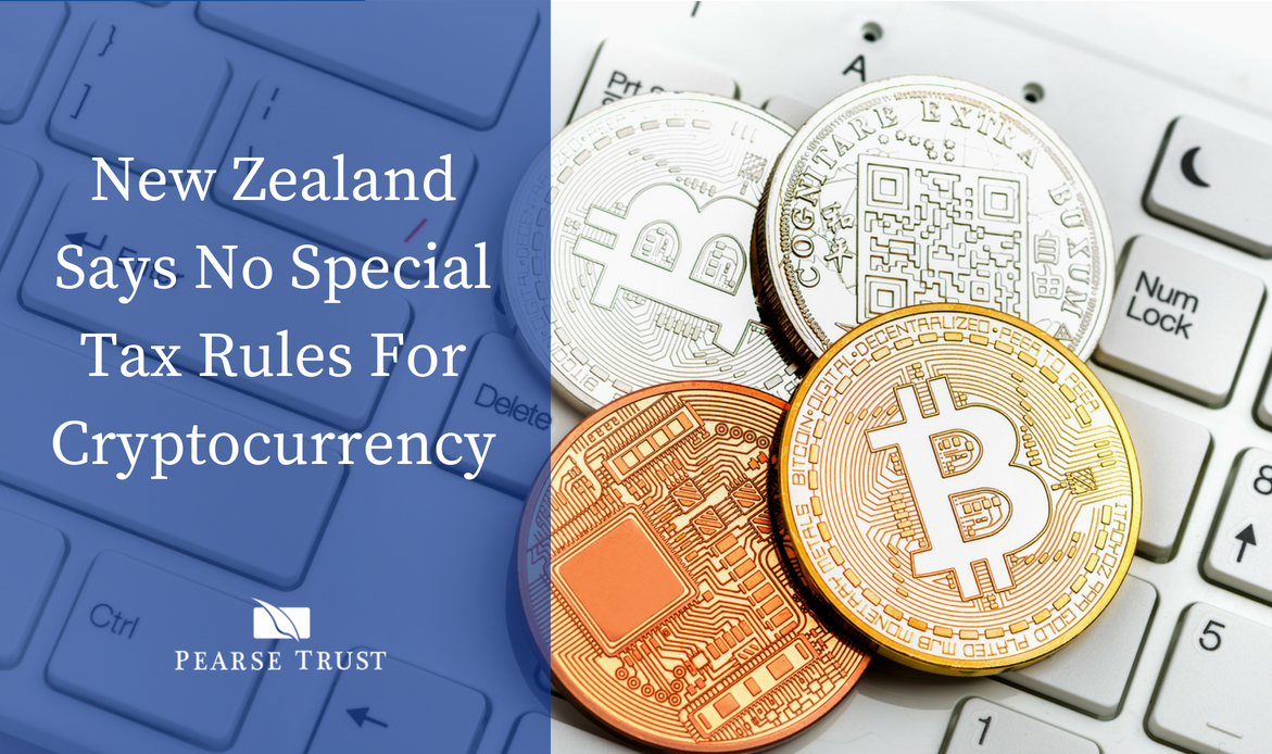 New Zealand says no special tax rules for cryptocurrency
