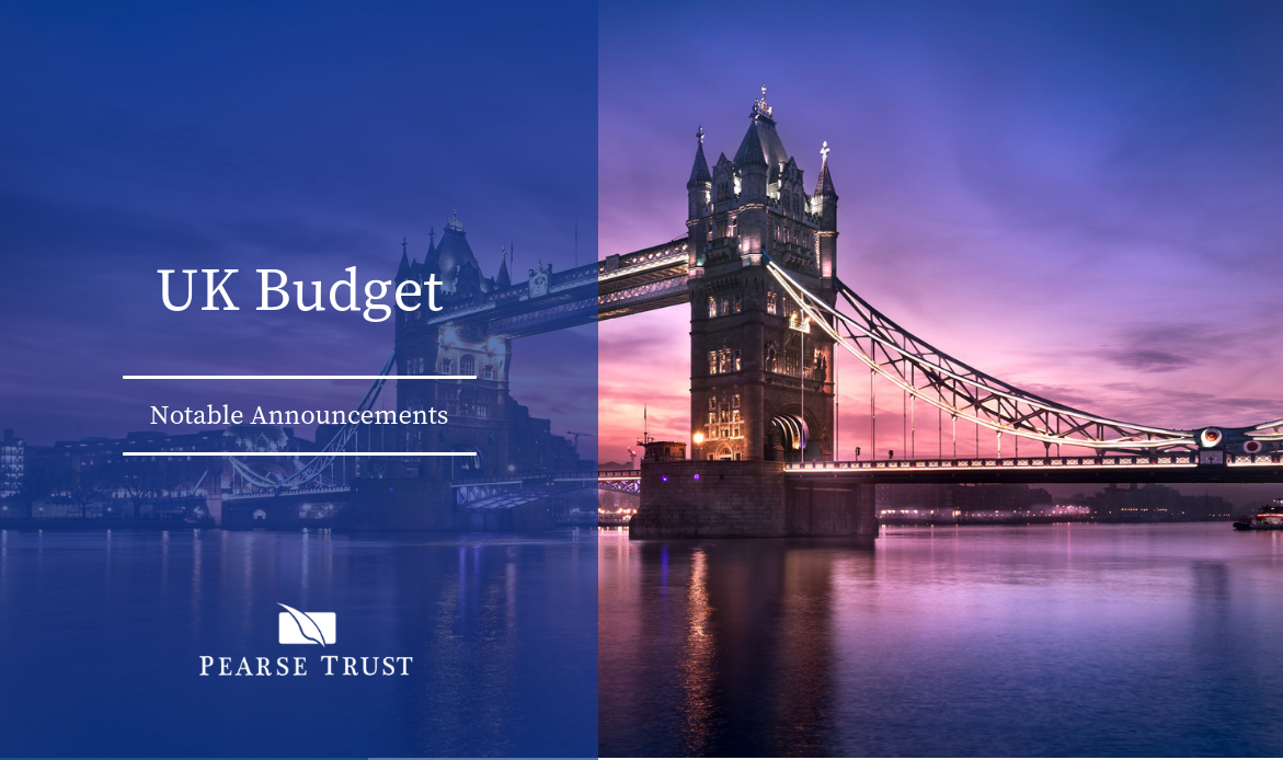 UK Budget - Notable Announcements