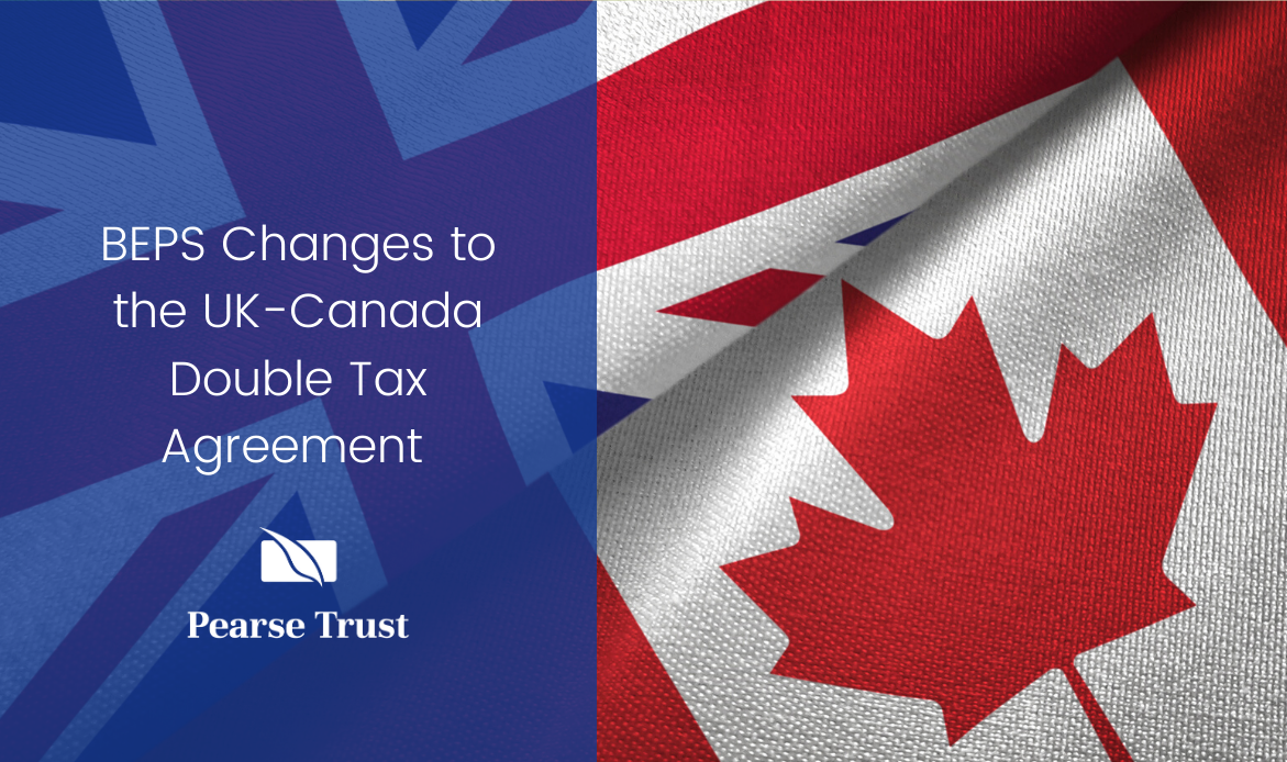 BEPS Changes to the UK-Canada Double Tax Agreement
