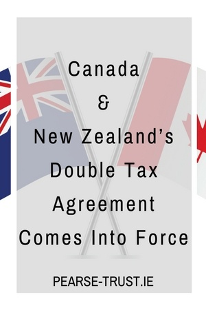 Canada New Zealands Double Tax Agreement Comes Into Force