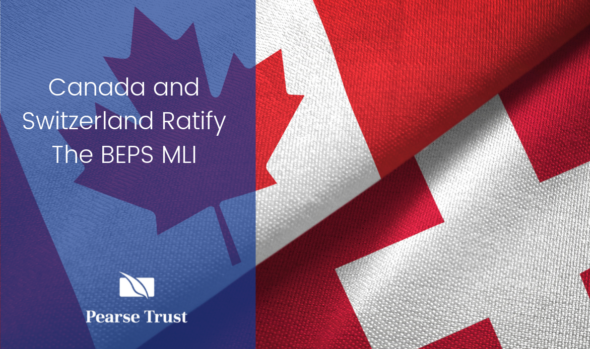Canada and Switzerland Ratify The BEPS MLI