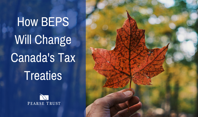 How BEPS Will Change Canada's Tax Treaties