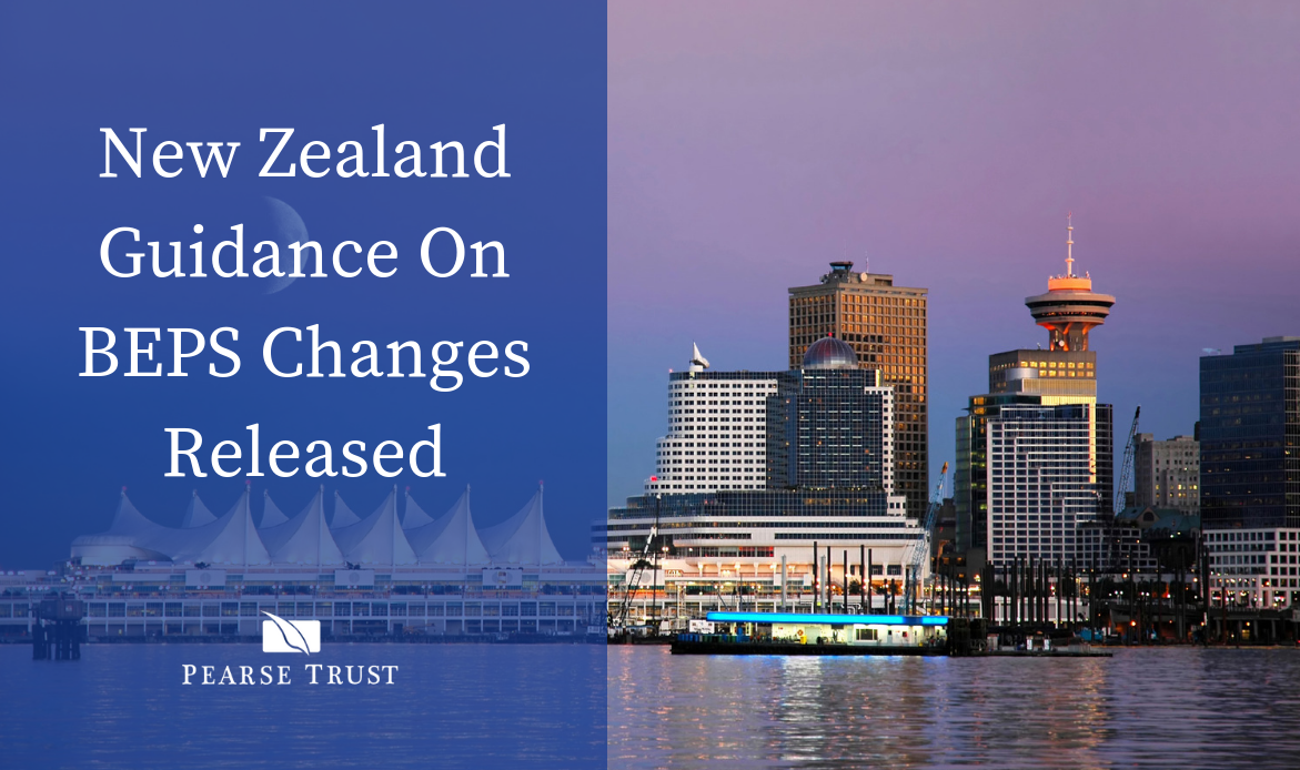 New Zealand Guidance On BEPS Changes Released