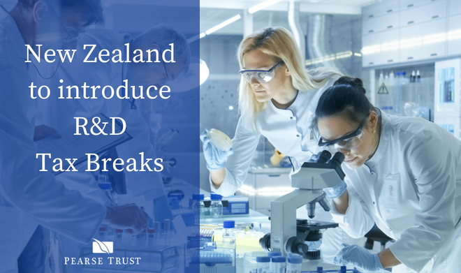 New Zealand To Join The R & D Tax Incentive Club